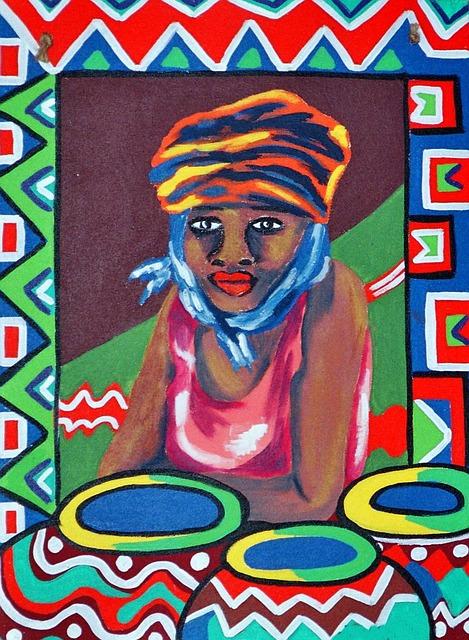 tableau africain